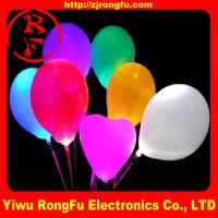 Best quality led ballon/led balloon toy/fixed color light led balloon