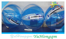 floating inflatable water running ball sticky water ball