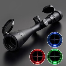 High quality 4-16x40E Red Illuminated Range Finder Rifle Scope for hunting