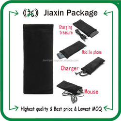 High quality velvet drawstring bags pouch for mobile and digital camera