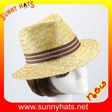100% rush straw fedora hat for girls