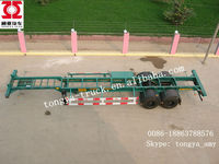 hot sale twin axle trailer for sale