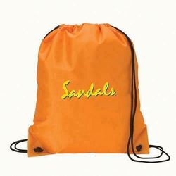 Top quality New recycle fold up polyester drawstring bag
