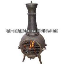 cast iron outdoor chimney