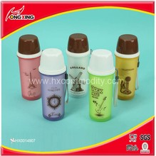 Double wall colorful printing collapsable thermal water bottle custom