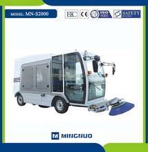 MN-S2000 power broom sweeper car ,vacuum cleaning sweeper truck ,vacuum floor machine
