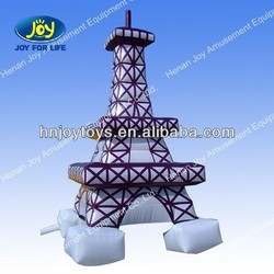 Advertising Giant inflatable eiffel tower for promotion