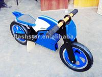 promotional wooden toy motorcycle