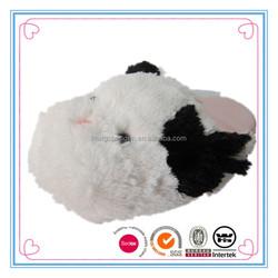 Cute White ladies winter animal slippers