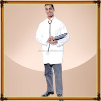 Wholesale clothing funny male doctor cosplay costume carnival costume in white color