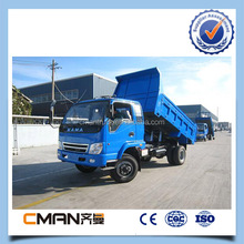 China KAMA factory all driving dump truck 5ton loading capacity with competitive price
