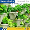commercial hydroponic farming stack bucket