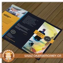 "Tri-folded Brochure Printed 8.5*11"" 2000pcs"