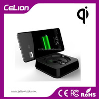 Patent New Top Quality Universal Qi Wireless Rechargeable Mobile Phone Battery Charger
