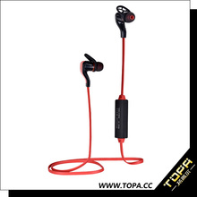 Fashional stereo sound heart rate monitor bluetooth sport earphone with call function