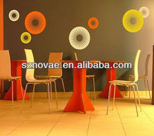J092 Removable Round Shape Vinyl Wall Stickers Home Decor