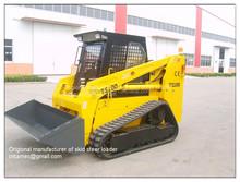 rubber track loader