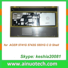 laptop spare for ACER 5741G 5742G 5551G laptop C shell laptop keyboard cover A,B,C,D,E case