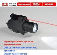 Vector Optics Vector Optics Doublecross Pistol Tactical Hunting 5mW 180 200 Lumens Red Laser and Flashlight Combo Sight