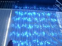 led christmas curtain light
