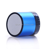 Mini Metal Steel Wireless Bluetooth Speaker Phone Card Small Portable Computer Subwoofer Music Amplifier with FM Radio MP3 Playe