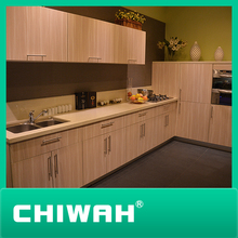 E1 grade high-quality Kitchen cabinets with Textured melamine finish
