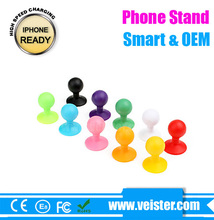 Funny cell phone holder for desk silicome phone stand Universal