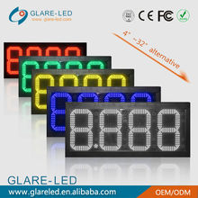 Outdoor Programmable & High Quality LED Gas Price Sign