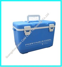 Cold storage use portable plastic insulated cold box for camping