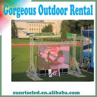 LED rental billboards of P10 RGB Outdoor fullcolor advertising screen