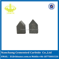 manufactory supply top quality YG6 tungsten carbide brazed tips