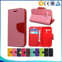 Wholesale Phone Accessory Flip Leather Case Cover for Samsung Galaxy Trend 2 Lite G318 case