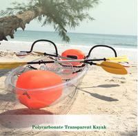 New transparent kayak/Manufacture PC Formed Transparent Kayak/ Clear boat