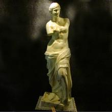 la diosa de la mitología griega escultura de la diosa del amor Venus en resina