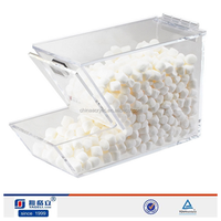 MAC handmadd Acrylic candy boxes,clear acrylic containers candy/food/bean wholesale,clear acrylic candy box
