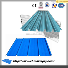 sheet metal roofing Colored corrugated metal steel sheet for roofing panel