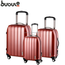 BUBULE 2015 Best brand hajj bag pc luggage famous luggage brands pc spinner luggage