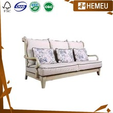 SF3001 Imported Canadian maple solid wooden middle east living room set furniture