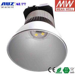 High quality Epistar COB 6000K Cool white Meanwell inner driver 200W LED high bay light