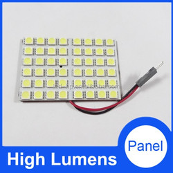 48 LED 5050SMD Dome/Door/Box Light Panel Interior Bulb 12V