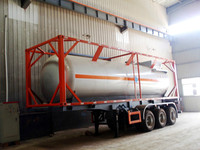 20FT iso tanker container chemical/fuel/LPG tank sale 40ft ISO Tank container