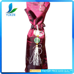 Antique oriental brocade Wine bottle cover of classical oriental design WB002