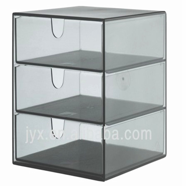 plexiglas acrylique rectangle bo te maquillage acrylique bo te de rangement support d 39 affichage. Black Bedroom Furniture Sets. Home Design Ideas