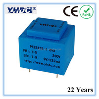 220V 12V Dry type AC power transformer of 220V transformer
