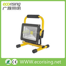 Emergency Functior Portable Hiking/Camping 10W/20W/30W 2700K~6500K CRI>80 IP65 Rechargeable LED Flood Lamps