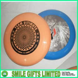 OEM Colorful cheap Custom 9 inch plastic flying saucer / frisbee
