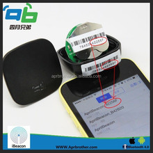 bluetooth ibeacon 30% energy saving ibeacon with mac address for indoor navigation