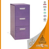 Wholesale high gloss china supplier purple file cabinet