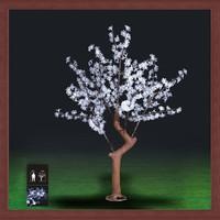 LED tree light artificial cherry blossom Landscape artificial christmas tree artificial flower outdoor light