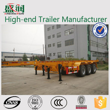 Hot Sale 40 Ton 2/3 Axles Skeleton Semi Trailer Container Chassis / Trailer Cheap Price